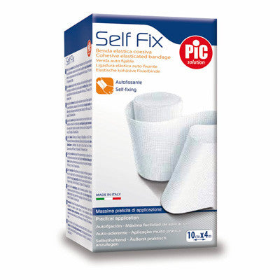 Pic self fix benda autofissante disponibile in diverse misure 4cm x 4m, 6cm x 4m, 10cm x 4m, 10cmx20mt - Farmacia Aliberti - 1