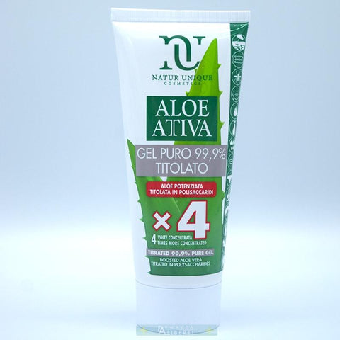 Aloe attiva gel puro 99,9% natur unique - Farmaciaalibertishop.it