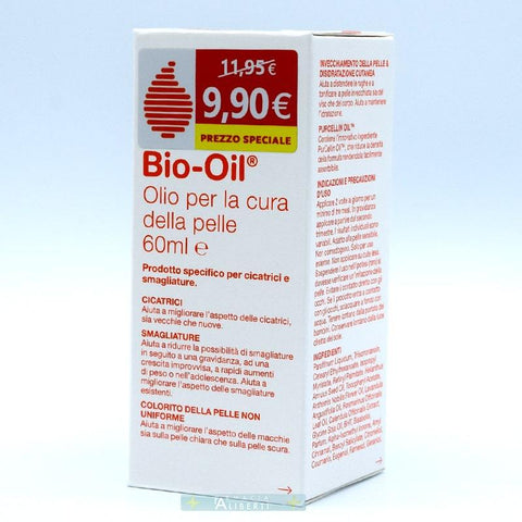 BIO OIL OLIO SMAGLIATURE E CICATRICI 60 ml - Farmaciaalibertishop.it
