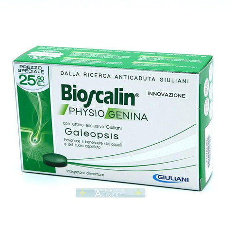 BIOSCALIN 30 COMPRESSE PHYSIOGENINA ANTI-CADUTA - Farmaciaalibertishop.it