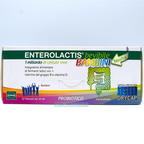 Enterolactis bevibile bambini - Farmaciaalibertishop.it
