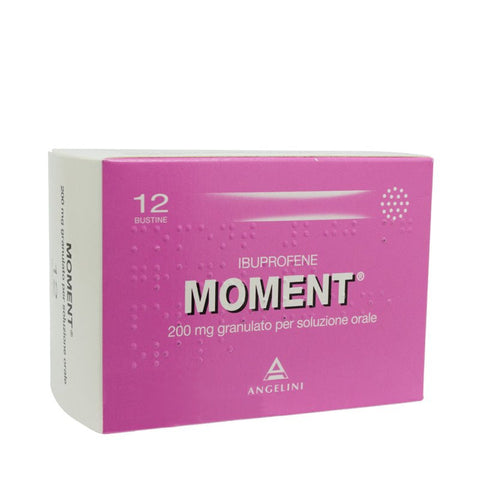 Moment 200 mg 12 bustine - Farmacia Aliberti