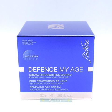 CREMA RINNOVATRICE GIORNO DEFENCE MY AGE IDRATAZIONE LUMINOSITA' ELASTICITA' - Farmaciaalibertishop.it