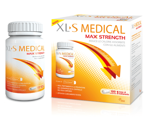 controllo del peso, dieta XLS medical max strength 120  compresse - Farmaciaalibertishop.it