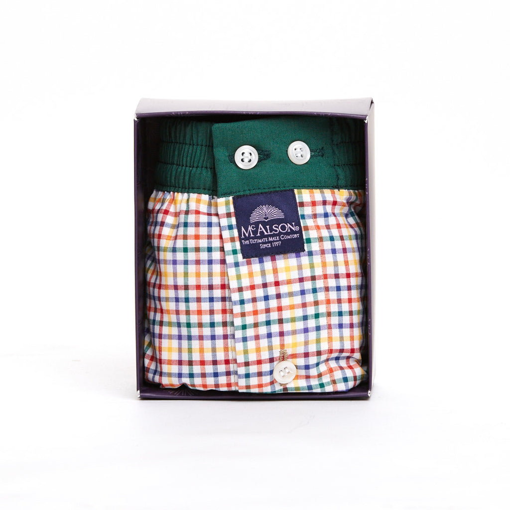 Multicolor Small Checks