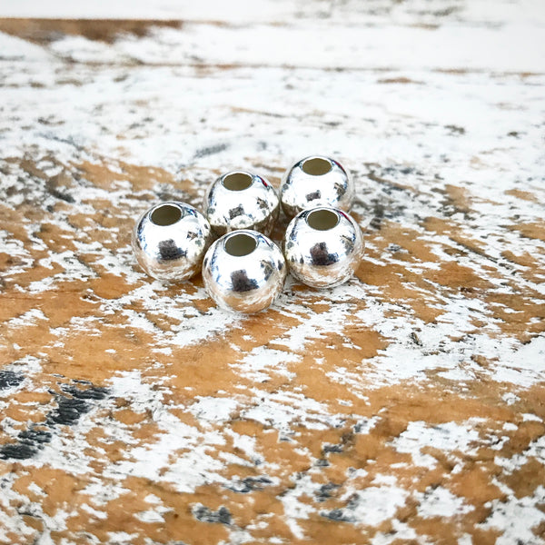 ADDITIONAL 8MM STERLING SILVER BEADS