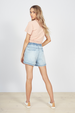 ROLLING SHORTS - DENIM