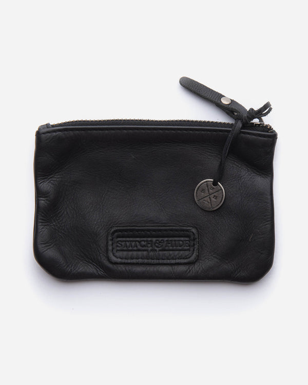 SHELLY POUCH - BLACK