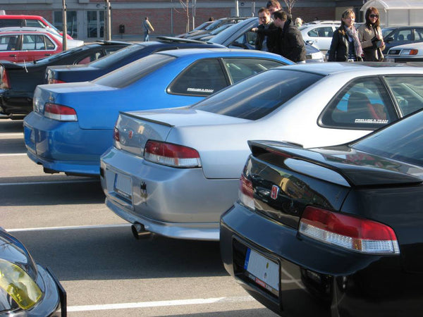 Honda Prelude car meeting