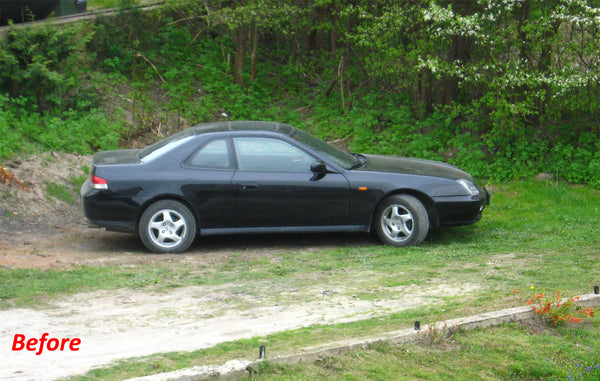 Honda Prelude before tuning