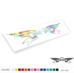 Dream Chaser 2 Decal Sticker Low JDM Drift Dope