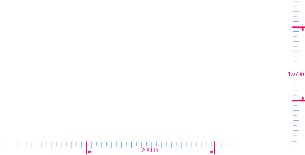Text Kdm Vinyl custom lettering decall/1.57 x 2.84 in/  White/