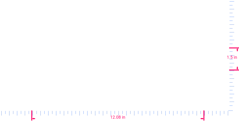 Text I Can Do All Things... Vinyl custom lettering decall/1.5 x 12.08 in/  White/