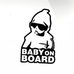 Baby on board Car decal sticker - stickyarteu