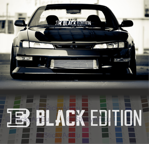 Black Edition Sticker decal