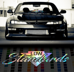 Low Standards decal sticker