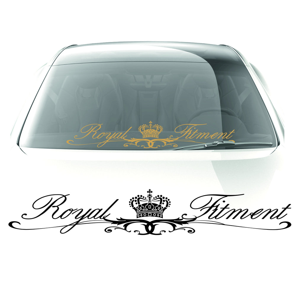 Royal Fitment Sticker - stickyarteu
