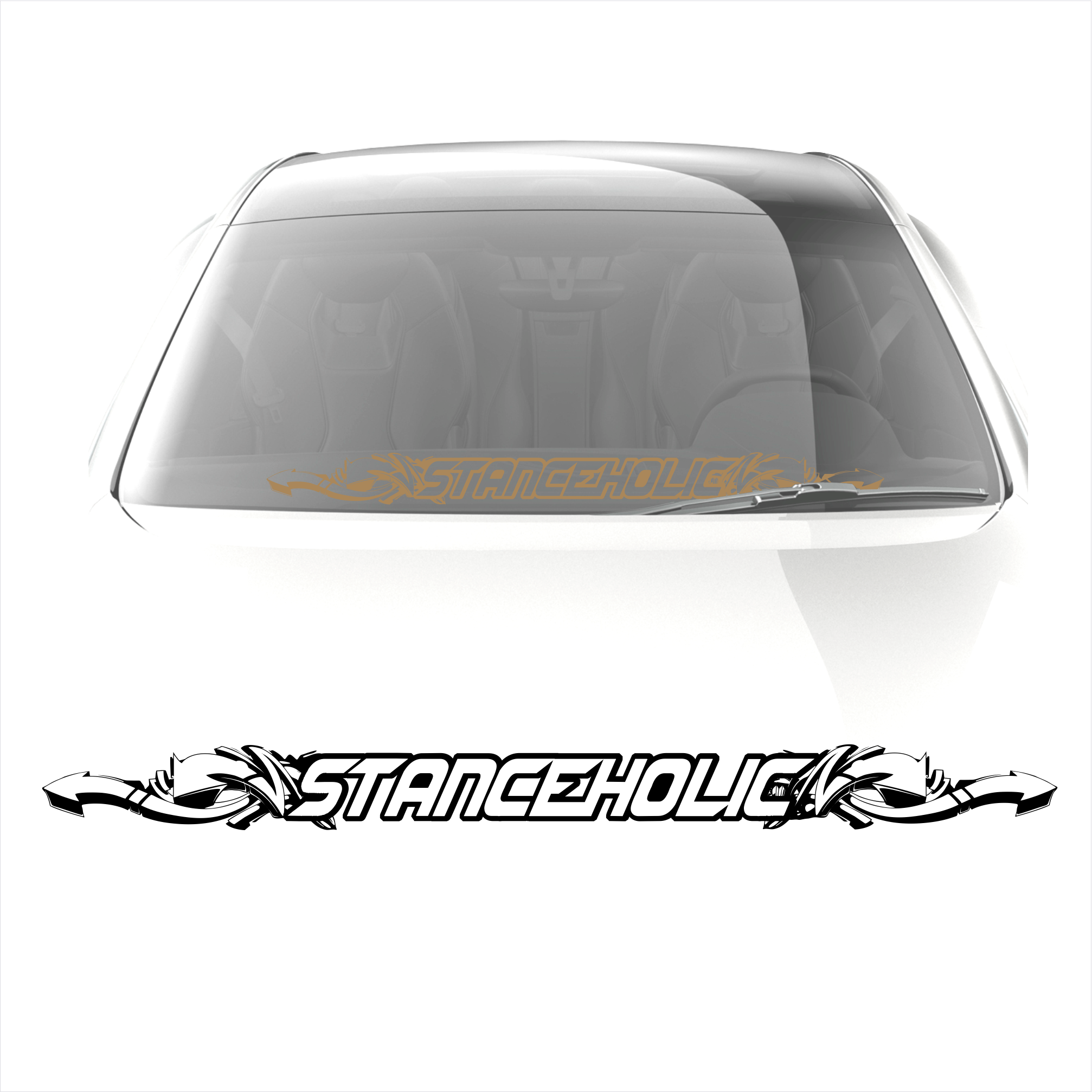 Stanceholic Sticker decal 2 - stickyarteu