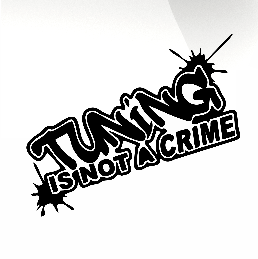 Tuning Car decal sticker - stickyarteu