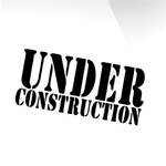 Under construction Car decal sticker - stickyarteu