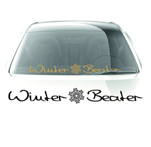 Winter Beater sticker - stickyarteu