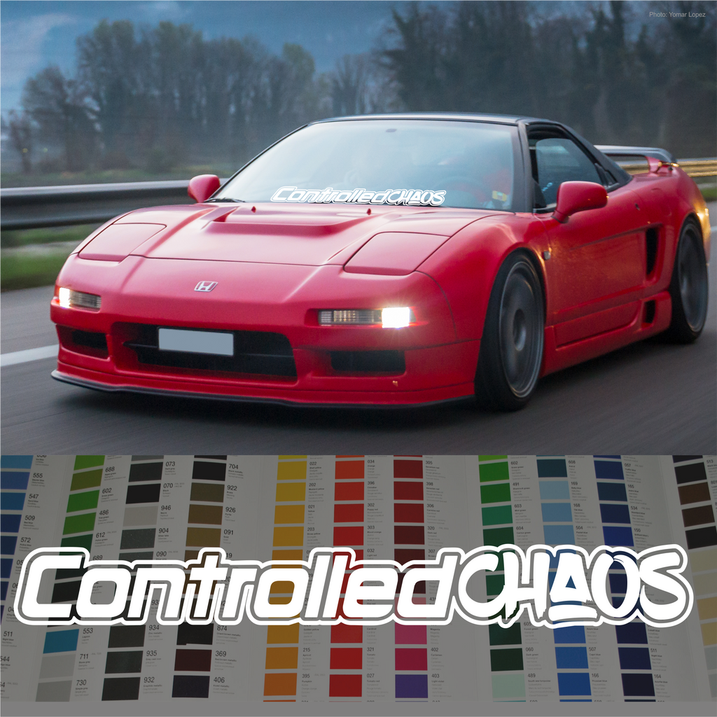 Controlled Chaos decal