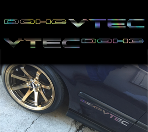 DOHC VTEC Honda decal sticker