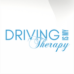 Driving Is My Therapy Decal Sml-ilg