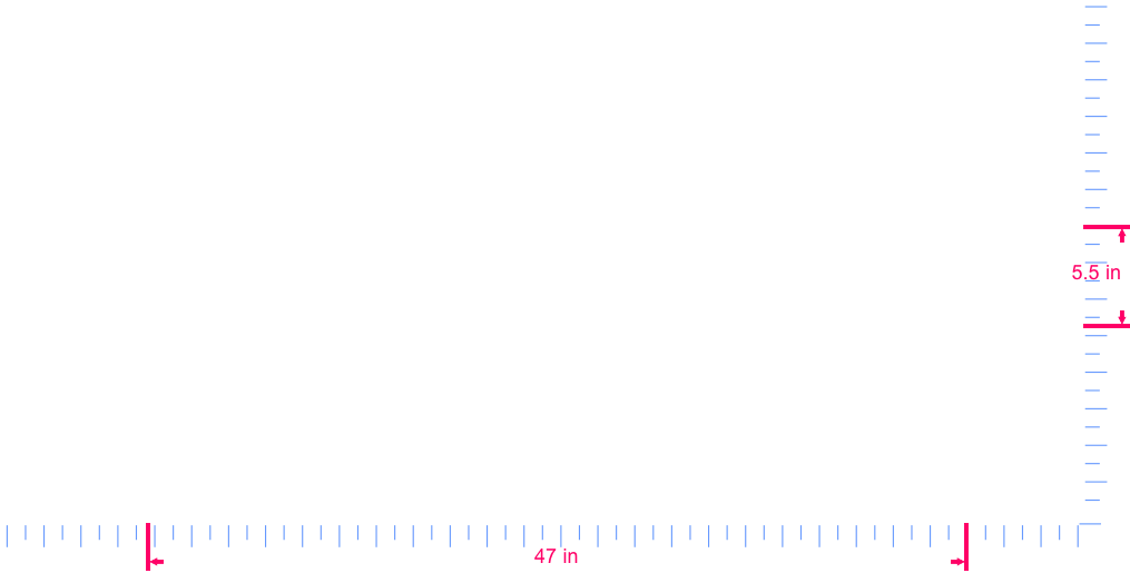 Text eclipse Vinyl custom lettering decal/5.5 x 47 in/  White/