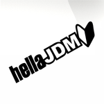 hella JDM Car decal sticker - stickyarteu