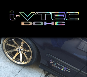 i-VTEC DOHC Honda decal sticker