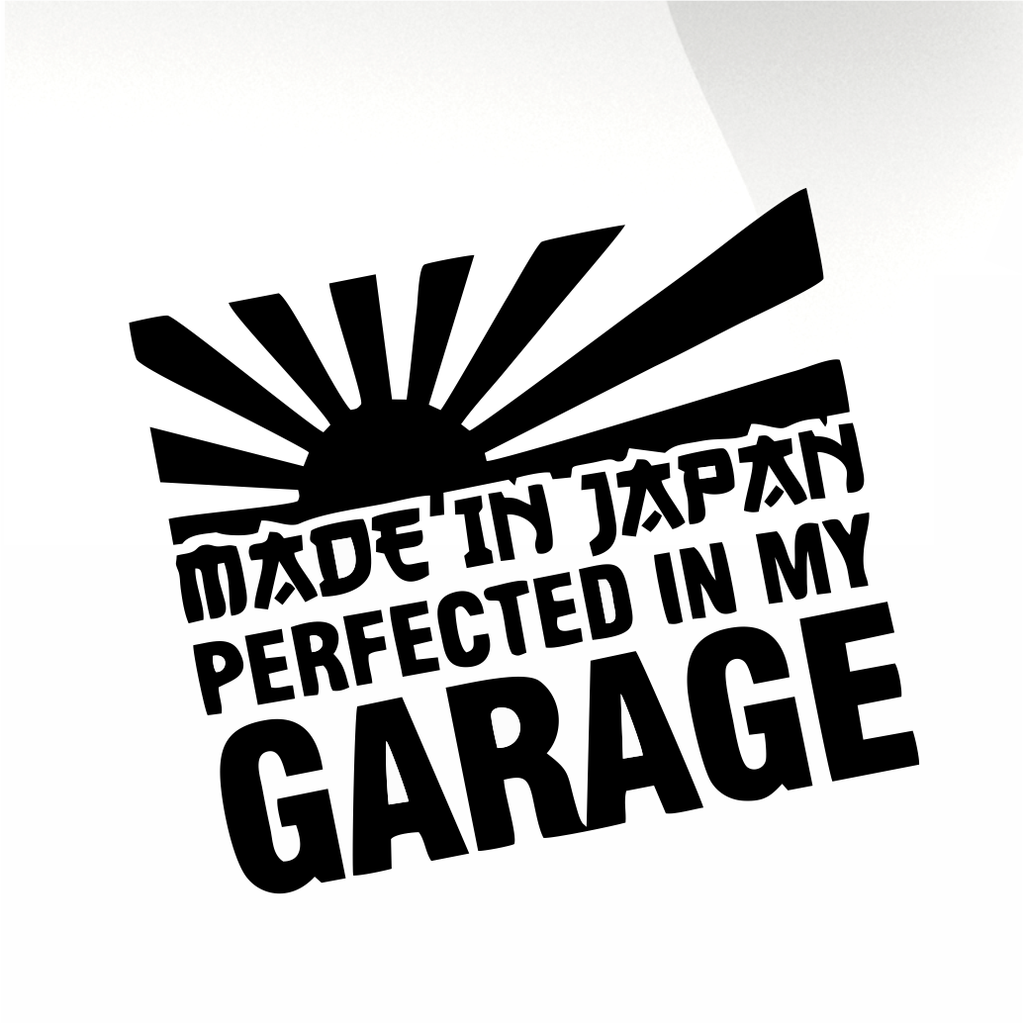 MADE IN JAPAN  Car decal sticker