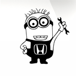 Minions Car decal sticker - stickyarteu