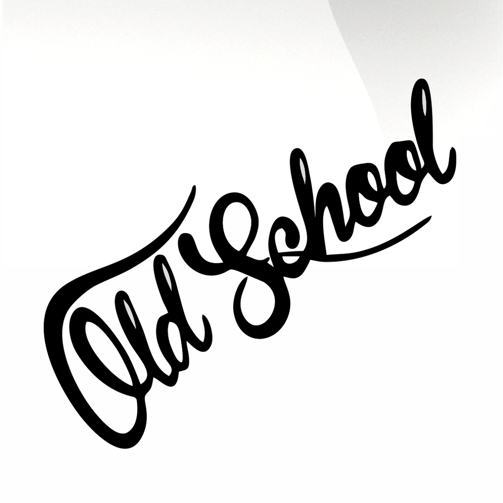 Old school Car decal sticker - stickyarteu