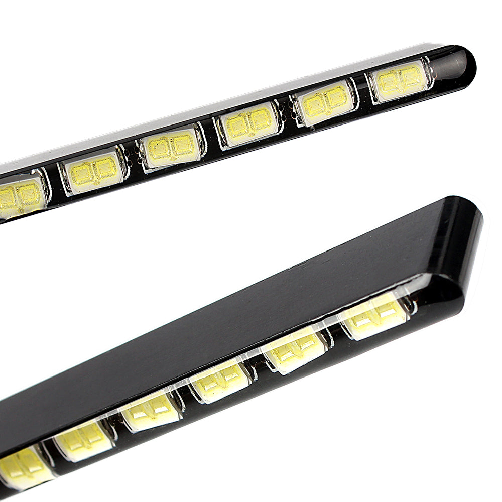 2pcs Ultra Thin, Super bright 14 LEDs DRL
