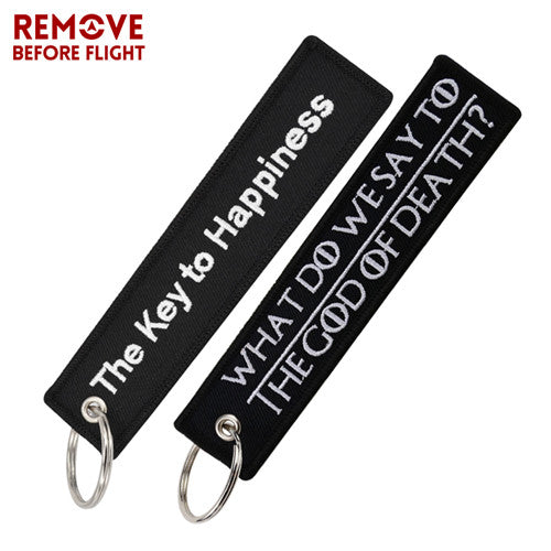 2PCS/LOT Mix Keychain Tag