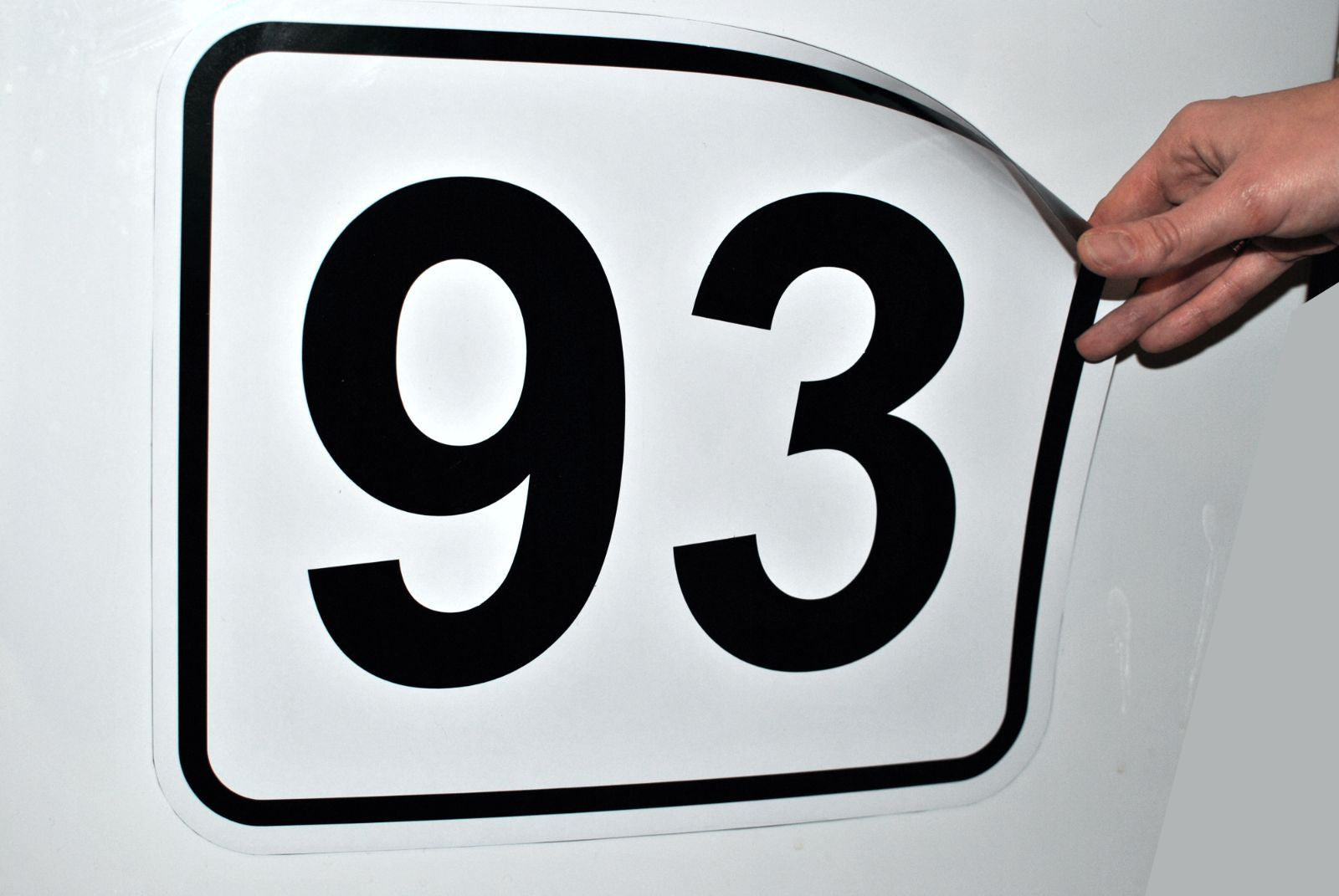 Magnetic Racing Numbers - stickyarteu