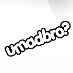 umadbro Car decal sticker - stickyarteu