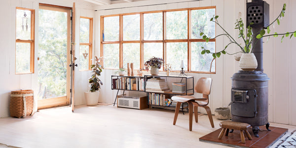 Home inspiration: a laid-back Californian cabin.