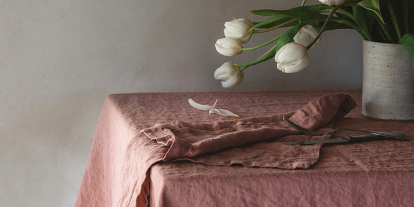 The history of table linen
