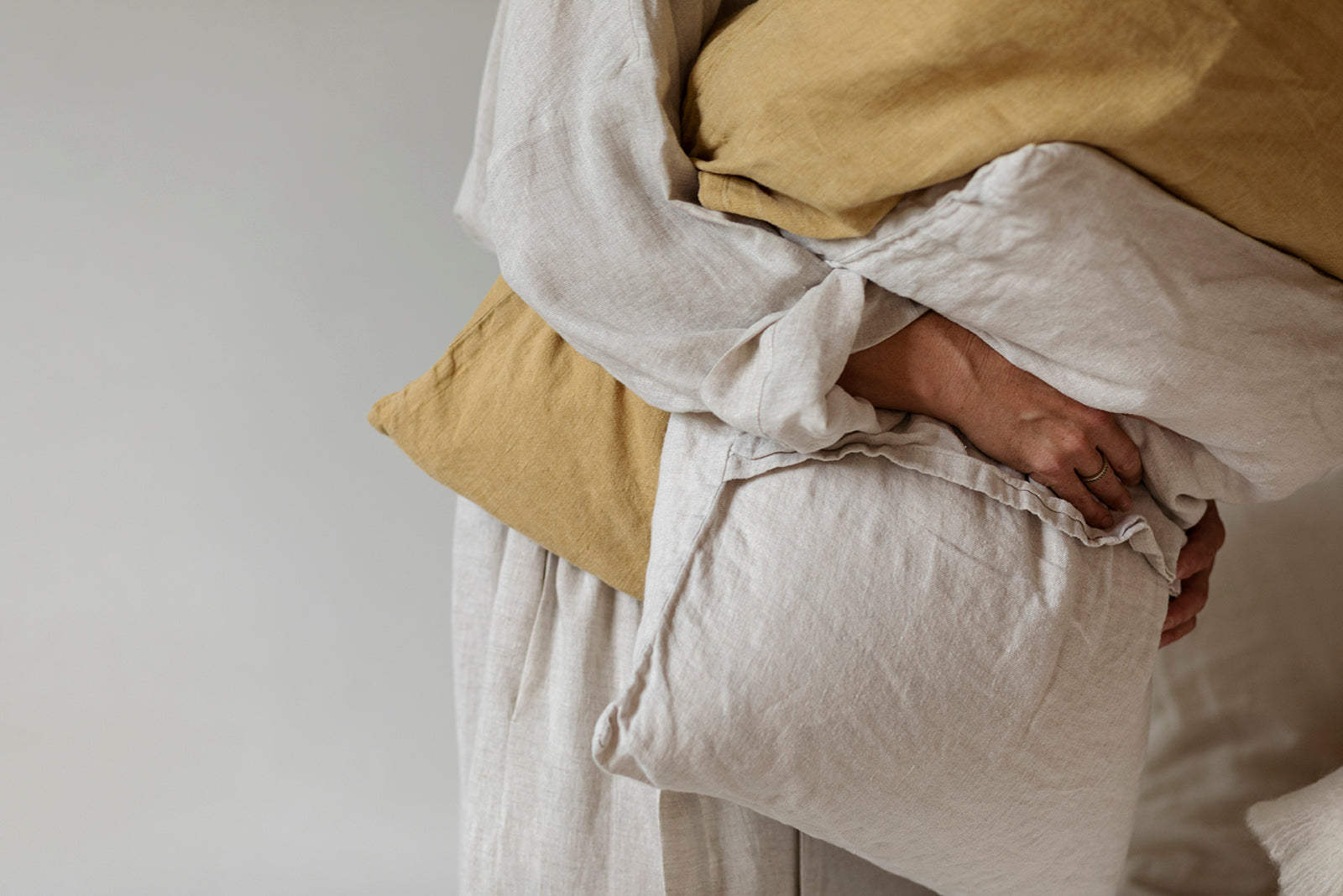 By Mölle linen pillowcases
