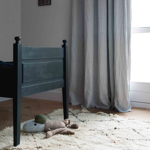 By Mölle linen curtains for your little one.