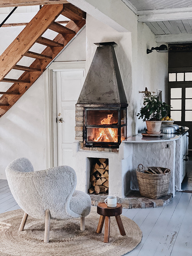 fire place Sweden home Our Foodstories