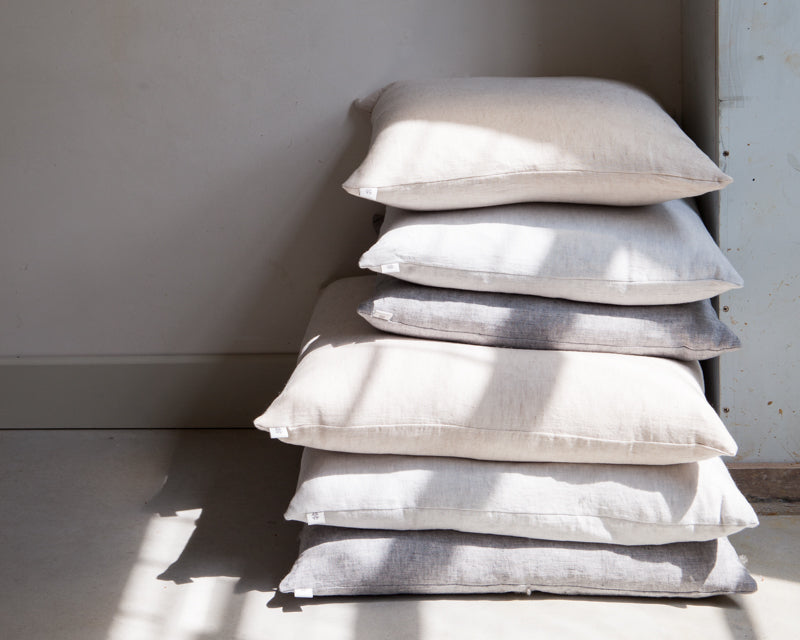 By Mölle linen cushions