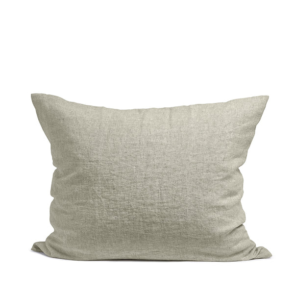 Linen pillow case sage