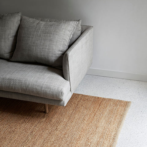 Nest Weave rug natural