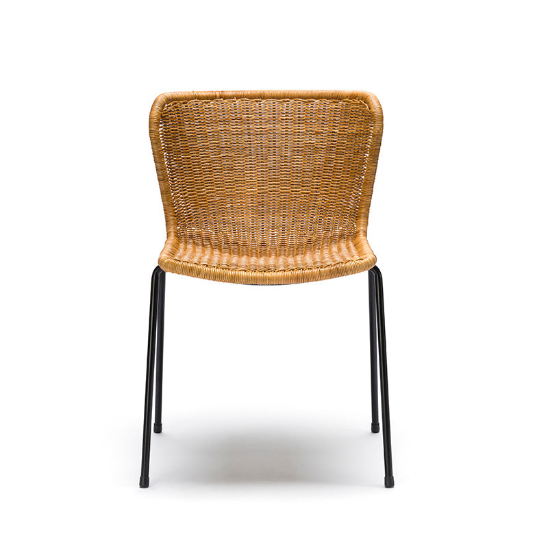C603 chair natural rattan