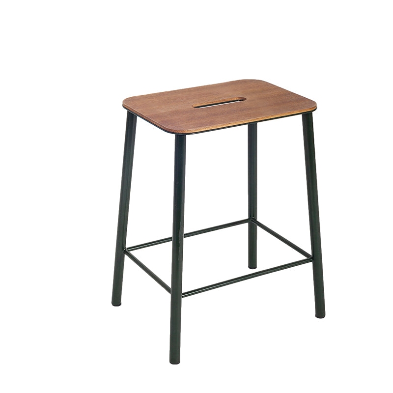 Frama Adam stool oak steel