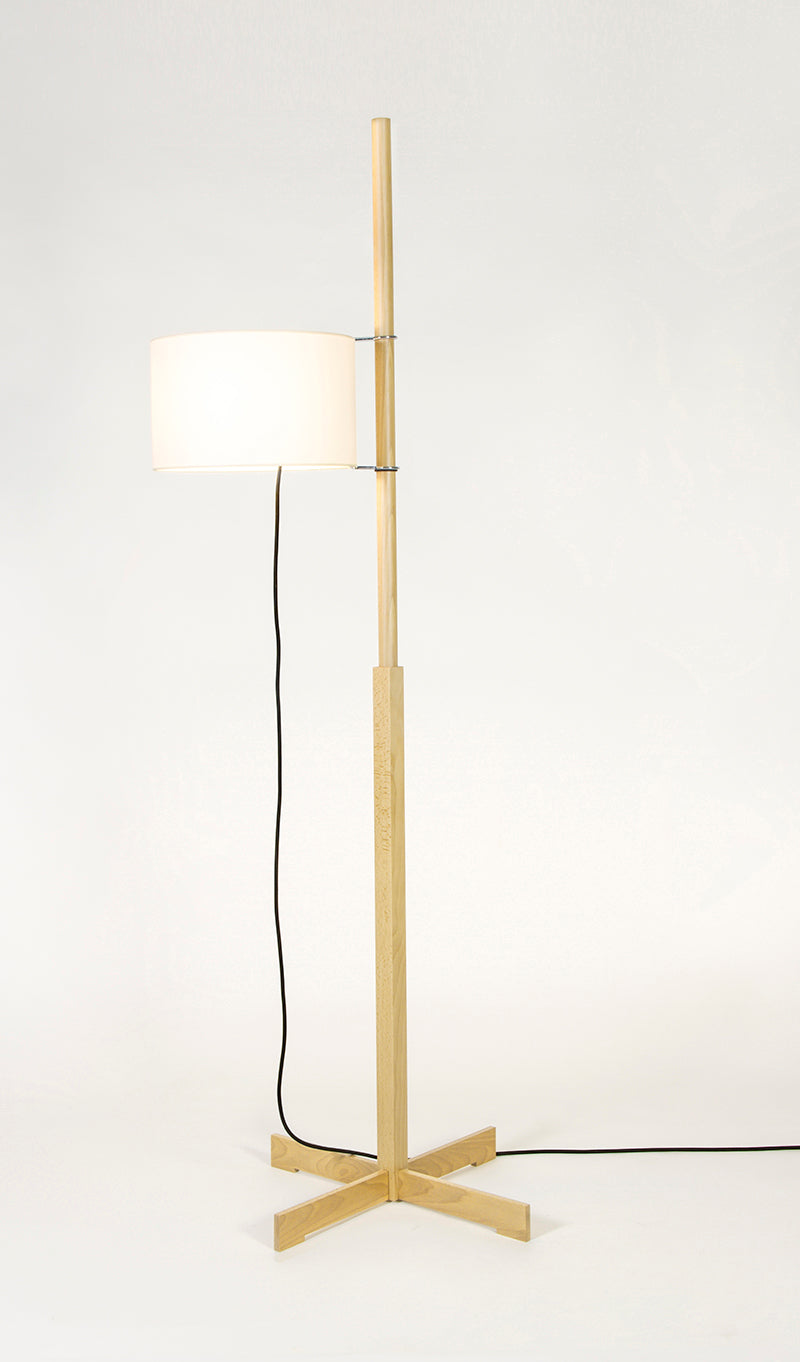 TMM floor lamp beech
