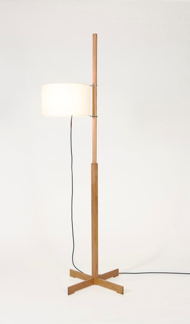 TMM floor lamp cherry